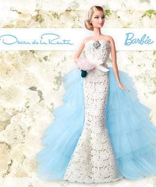 Barbie Gets a Bridal Makeover with This Oscar de la Renta Wedding Dress