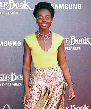 Lupita Nyong'o Dazzles in Sequins at the L.A. Premiere of The Jungle Book