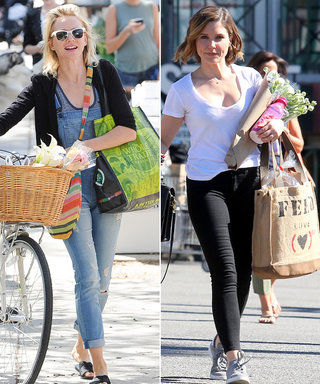 10 Images of Celebrities Carrying Eco-Friendly Totes (That Will Convince You to Ditch Plastic Bags for Good)