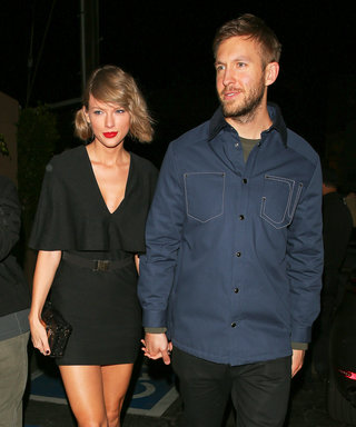 Taylor Swift and Calvin Harris Look So in Love on a Date Night