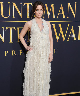 Emily Blunt Lends Her Dreamy Maternity Style to the L.A. Premiere of The Huntsman