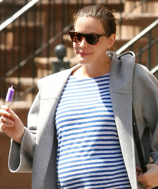 Liv Tyler Looks Ready for Action in Her Latest Maternity Outfit