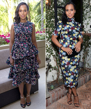 Why Kerry Washington is Obsessed With Floral Dresses