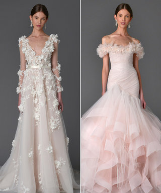 Marchesa Dreams Up an Enchanted Garden-Inspired Bridal Collection for Spring 2017