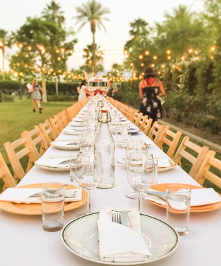 What It's Like to Have a Four-Course Sit-Down Dinner at Coachella