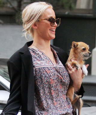 Jennifer Lawrence Shows Off Her Toned Legs in Recycled Boho Dress