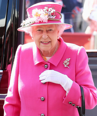 Queen Elizabeth Steps Out in All Pink Ahead of Her 90th Birthday