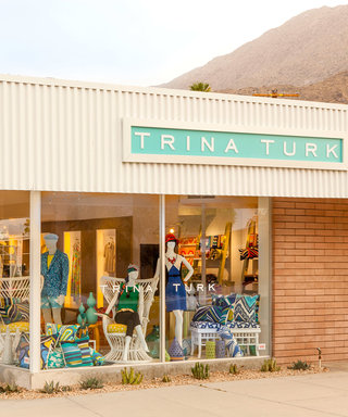 All About Trina Turk's Flagship Store, theCrown Shopping Jewel of Palm Springs