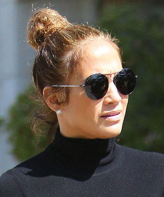 Jennifer Lopez Looks Glamorous While Running Errands in Calabasas
