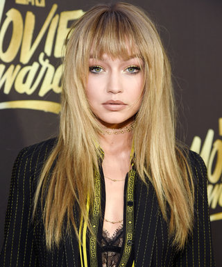 BURBANK, CALIFORNIA - APRIL 09:  Model Gigi Hadid attends the 2016 MTV Movie Awards at Warner Bros. Studios on April 9, 2016 in Burbank, California.  MTV Movie Awards airs April 10, 2016 at 8pm ET/PT.  (Photo by Kevin Mazur/WireImage for MTV)
