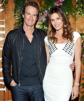 Cindy Crawford Just Posted the Most Adorable Family Throwback for Her Husband's Birthday