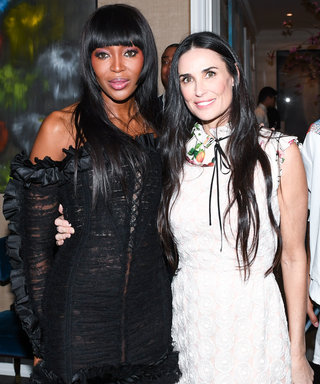 Naomi Campbell and Demi Moore Celebrate Eric Buterbaugh's Floral Fragrances with New York Royalty