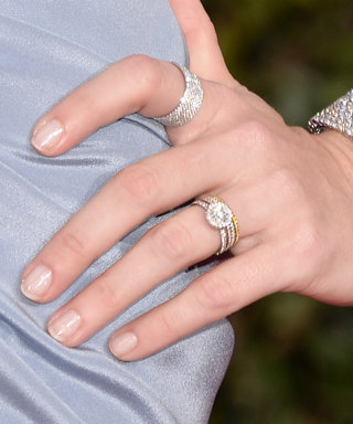9 Gorgeous Engagement Ring + Wedding Band Combos