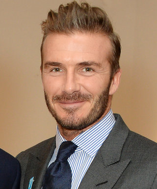 David Beckham Received This Adorable Birthday Cake from His Children