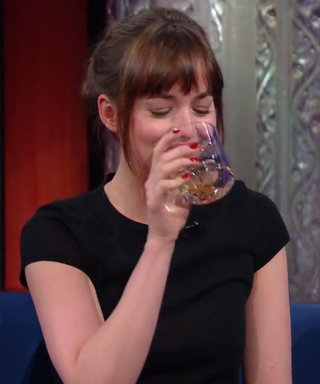 Dakota Johnson Is All of Us After Three Shots of Tequila on The Late Show