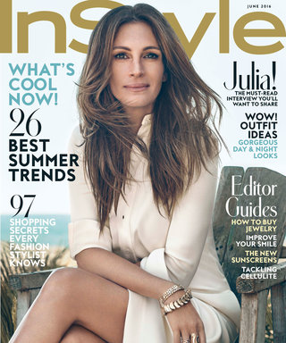 What It's Like to Create the June Issue of InStyle with Cover Star Julia Roberts