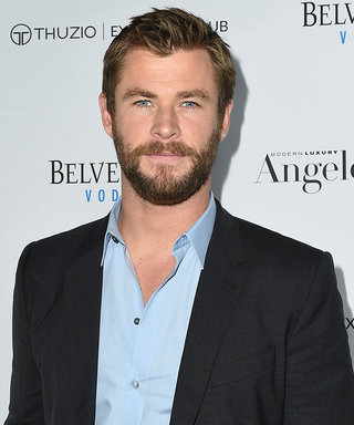 Hero Dad Chris Hemsworth Saves His Daughter's Birthday Party by Baking an Adorable Dino Cake
