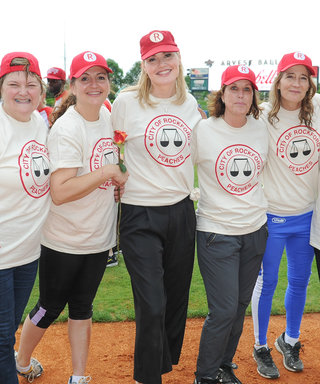 Geena Davis and the Cast of A League of Their Own Reunite for a Nostalgic Softball Game