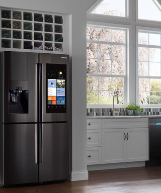 Not Sure If You Need Milk at Home? This Refrigerator Can Tell You