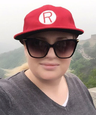 Rebel Wilson Just Took the Most Epic Trip to the Great Wall of China