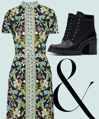 The 7 Cool-Girl Ways to Toughen Up Your Pretty Floral Dresses