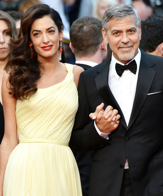 George and Amal Clooney Make a Romantic Entrance at Money Monster's Cannes Film Festival Premiere