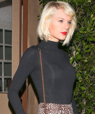 Taylor Swift Wears Short Shorts and Heels for a Night on the Town