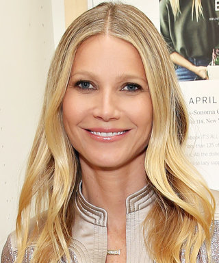 Gwyneth Paltrow Snaps Selfie with Chris Martin During a Trip to Disneyland