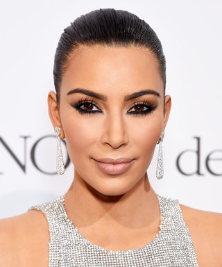 Here's How to Get Kim Kardashian's Insanely Graphic Eyeshadow from Cannes