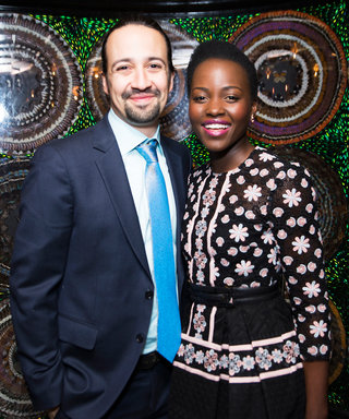 Hamilton's Lin-Manuel Miranda and Eclipsed's Lupita Nyong'o Gleam at the 2016 Tony Awards Nominees Luncheon