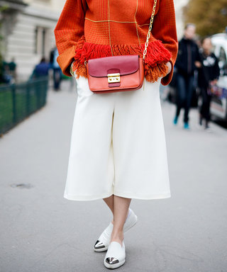 How to Master Wearing Culottes Like a Street Style Pro