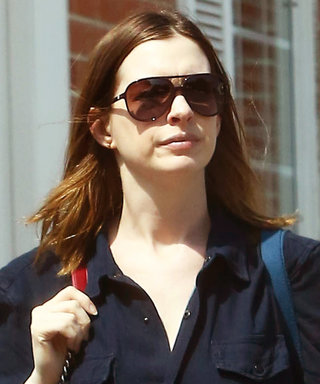 Anne Hathaway Looks Incredible in a Jumpsuit Two Months After Giving Birth