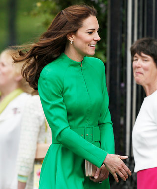 Kate Middleton Wows in Green at the Chelsea Flower Show