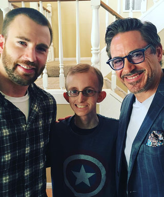 Avengers Co-Stars Make a Young Fan with Cancer's Dream Come True