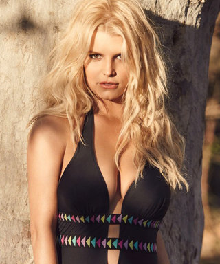 Jessica Simpson Shows Off Her Killer Curves in Looks from Her Swimwear Line