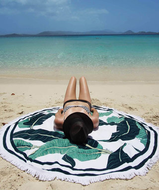 Round Towels Are Summer's Hottest Accessory—Here Are 5 of Our Favorites