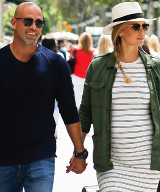 Bar Refaeli Shows Off Her Baby Bump During Spain Vacation