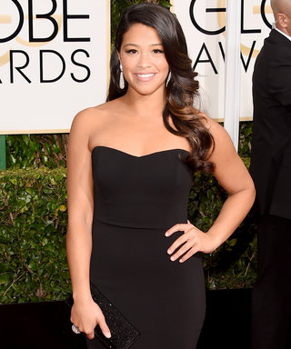 See the Prom Photos from the Teen Who Got to Wear Gina Rodriguez's Golden Globes Dress