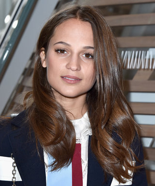 Alicia Vikander Shows Off Her Svelte Figure in a White-Hot Bikini