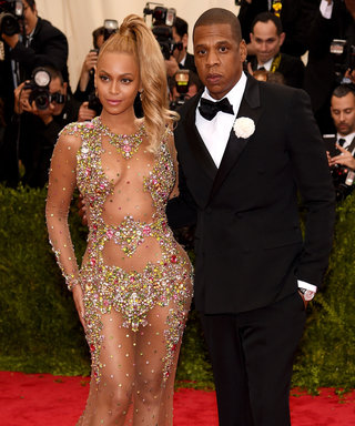 """NEW YORK, NY - MAY 04:   Beyonce and Jay Z attend the """"China: Through The Looking Glass"""" Costume Institute Benefit Gala at the Metropolitan Museum of Art on May 4, 2015 in New York City.  (Photo by Dimitrios Kambouris/Getty Images)"""