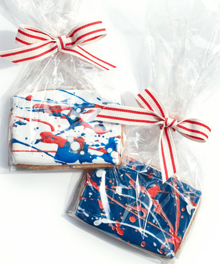 Watch How to Create Eleni's Artful Splatter Cookies for Your Fourth of July Bash