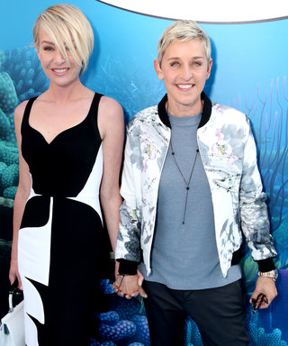Ellen DeGeneres and Portia de Rossi Cozy Up at Finding Dory Premiere