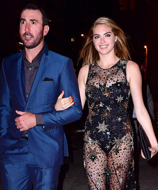 Kate Upton's Birthday Dress Leaves Little to the Imagination