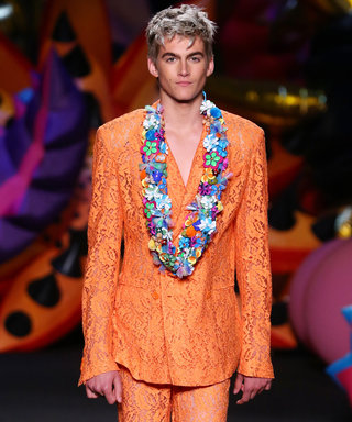Cindy Crawford's Son Presley Gerber Makes Runway Debut at Moschino Alongside Yolanda Hadid's Son Anwar
