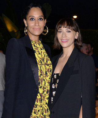 Tracee Ellis Ross and Rashida Jones Get Their Groove on at a Rap-Fueled Hollywood Party