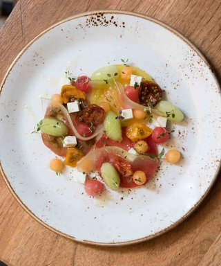 This Melon Salad Recipe with a Twist Is Perfect for Your Next Summer Soirée