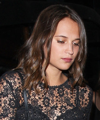 Alicia Vikander Proves She's a Street Style Pro in a Totally Sheer Top