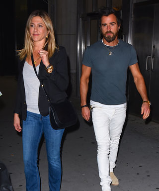 Jennifer Aniston and Justin Theroux Look Summer-Ready for Date Night in N.Y.C.