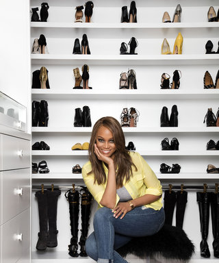 Go Inside Tyra Banks's Immaculate Closet (and Get Some Tips from Her Organizing Pro)