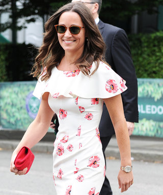 Pippa Middleton Rings in the Start of Wimbledon in the Perfect Summer Dress